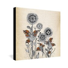 <strong>DENY Designs</strong> Iveta Abolina Floral 3 Gallery Wrapped Canvas