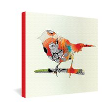 <strong>DENY Designs</strong> Iveta Abolina Little Bird Gallery Wrapped Canvas