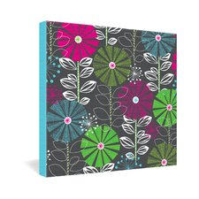 <strong>DENY Designs</strong> Khristian A Howell Cape Town Blooms Gallery Wrapped Canvas