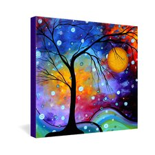 Madart Inc  Winter Sparkle Gallery Wrapped Canvas
