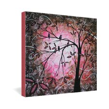 <strong>DENY Designs</strong> Madart Inc  Cherry Blossoms Gallery Wrapped Canvas