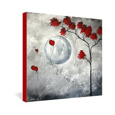 <strong>DENY Designs</strong> Madart Inc  Far Side Of The Moon Gallery Wrapped Canvas