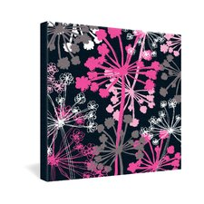 <strong>DENY Designs</strong> Rachael Taylor Cow Parsley Gallery Wrapped Canvas
