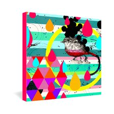 Luns Box 4 by Randi Antonsen Graphic Art on Canvas