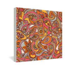 Spring Paisley by Valentina Ramos Graphic Art on Canvas