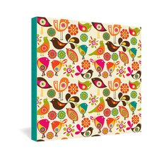 <strong>DENY Designs</strong> Valentina Ramos Little Birds Gallery Wrapped Canvas