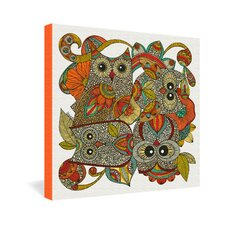 4 Owls by Valentina Ramos Graphic Art on Canvas