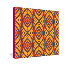 <strong>DENY Designs</strong> Wagner Campelo Maranta 2 Gallery Wrapped Canvas