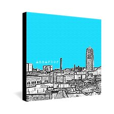 Ann Arbor by Bird Ave. Graphic Art on Canvas