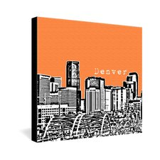 <strong>DENY Designs</strong> Bird Ave Polyester Denver Gallery Wrapped Canvas