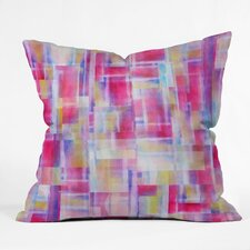 Jacqueline Maldonado Space Between Indoor / Outdoor Polyester Throw Pillow