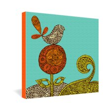 <strong>DENY Designs</strong> Valentina Ramos Bird In The Flower Gallery Wrapped Canvas