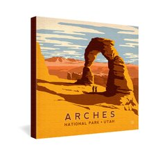<strong>DENY Designs</strong> Anderson Design Group Arches Gallery Wrapped Canvas