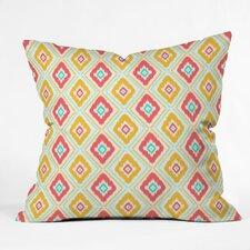 Jacqueline Maldonado Zig Zag Ikat Indoor / Outdoor Polyester Throw Pillow