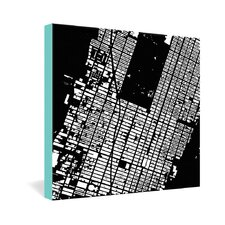 <strong>DENY Designs</strong> CityFabric Inc NYC Midtown Gallery Wrapped Canvas