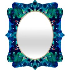 <strong>DENY Designs</strong> Amy Sia Water Dream Quatrefoil Mirror
