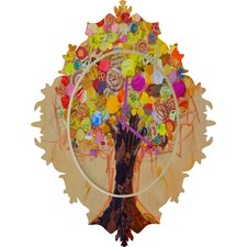 Elizabeth St Hilaire Nelson Summer Tree Wall Clock