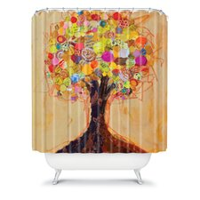 Elizabeth St Hilaire Nelson Summer Tree Polyester Shower Curtain