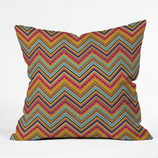 Amy Sia Tribal Chevron Polyester Throw Pillow