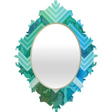 <strong>DENY Designs</strong> Gabi Azul Baroque Mirror
