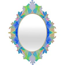 Amy Sia Chroma Blue Baroque Mirror