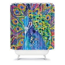 Elizabeth St Hilaire Nelson Cacophony of Color Polyester Shower Curtain