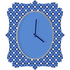 <strong>DENY Designs</strong> Caroline Okun Blueberry Wall Clock