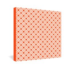 <strong>DENY Designs</strong> Caroline Okun Persimmon Gallery Wrapped Canvas