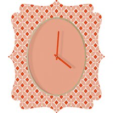 <strong>DENY Designs</strong> Caroline Okun Persimmon Wall Clock