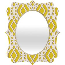 <strong>DENY Designs</strong> Aimee St Hill Diamonds Quatrefoil Mirror