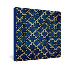 Arcturus Quatrefoil Gallery Wrapped Canvas