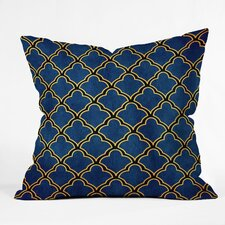Arcturus Quatrefoil Polyester Throw Pillow