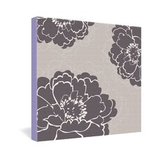 <strong>DENY Designs</strong> Caroline Okun Winter Peony Gallery Wrapped Canvas