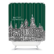Bird Ave Woven Polyester University Shower Curtain