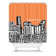 Bird Ave Woven Polyester Denver Shower Curtain