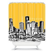 Bird Ave Woven Polyester Houston Shower Curtain