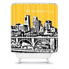 Bird Ave Woven Polyester Minneapolis Shower Curtain