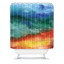 Jacqueline Maldonado Woven Polyester Leaving California Shower Curtain