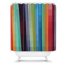 Madart Inc Woven Polyester City Colors Shower Curtain