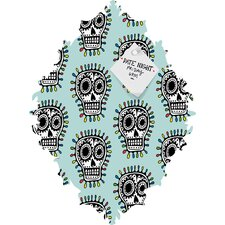 <strong>DENY Designs</strong> Andi Bird Sugar Skull Fun Baroque Magnet Board