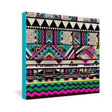 Kris Tate Fiesta 1 Gallery Wrapped Canvas