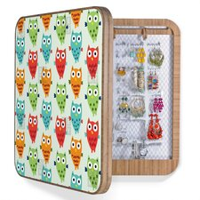 <strong>DENY Designs</strong> Andi Bird Owl Fun Bling Box