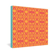 Pattern State Shotgirl Tang Gallery Wrapped Canvas