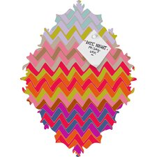 <strong>DENY Designs</strong> Sharon Turner Geo Chevron Baroque Magnet Board