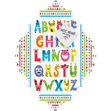 Andi Bird Alphabet Monsters Baroque Magnet Board