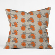 Mummysam Woven Polyester Throw Pillow