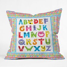 Andi Bird Woven Polyester Throw Pillow