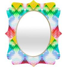 Deniz Ercelebi Crystal Rainbow Quatrefoil Mirror