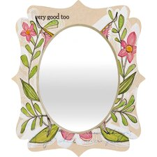 Cori Dantini Very Good Quatrefoil Mirror