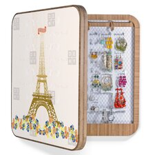 <strong>DENY Designs</strong> Jennifer Hill Paris Eiffel Tower Bling Box
